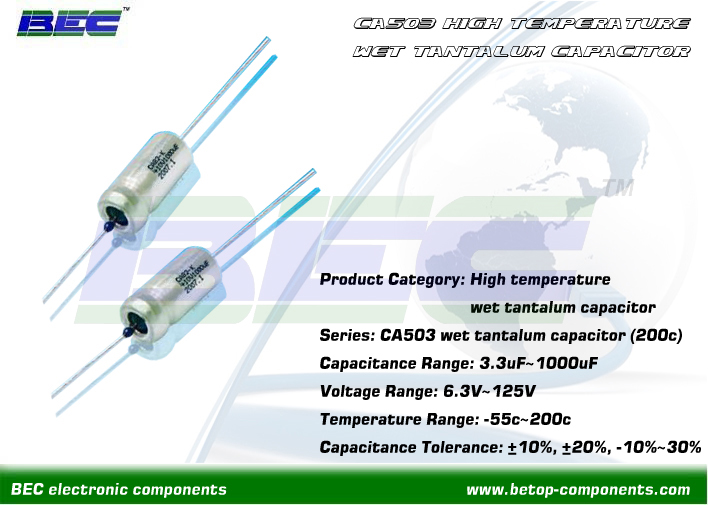 Tantalum capacitor supplier from China----Shenzhen Be-Top